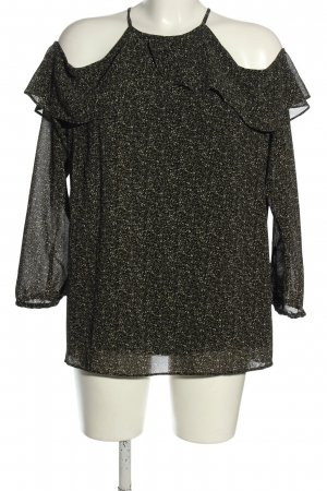 Michael Kors Langarm-Bluse Allover-Druck Casual-Look