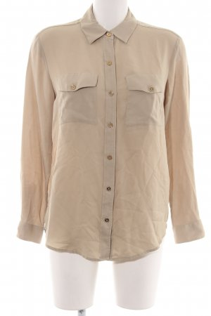 Michael Kors Langarm-Bluse nude Business-Look