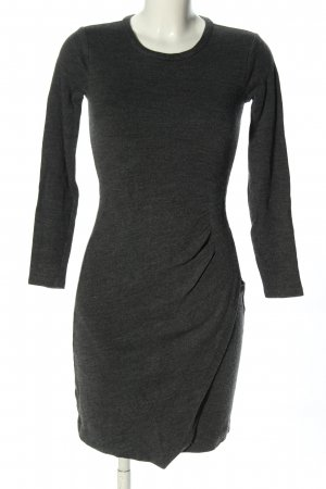 Michael Kors Langarmkleid hellgrau Casual-Look