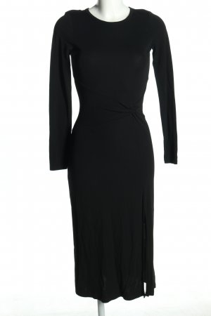 Michael Kors Langarmkleid schwarz Business-Look