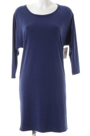 Michael Kors Langarmkleid dunkelblau schlichter Stil