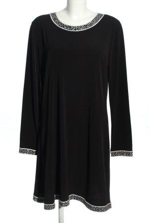 Michael Kors Sukienka z długim rękawem czarny W stylu casual