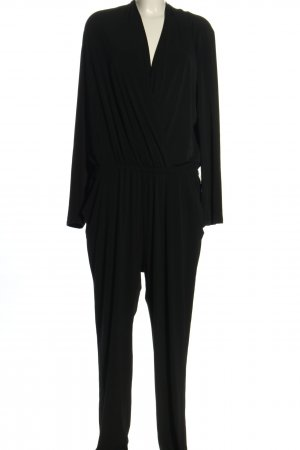 Michael Kors Langer Jumpsuit schwarz Business-Look