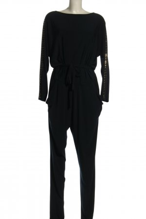 Michael Kors Langer Jumpsuit schwarz Elegant