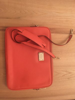 Michael Kors Sacoche d'ordinateur orange-orange fluo