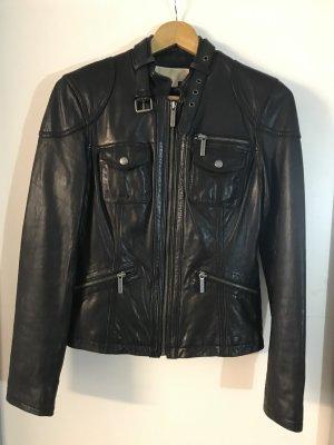 Michael Kors Chaqueta de motociclista negro