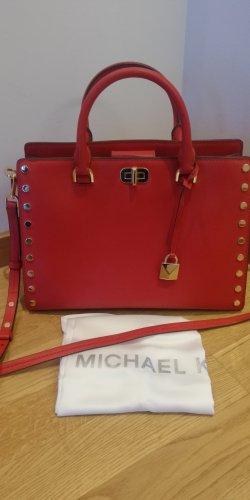 Michael Kors Satchel goud-rood