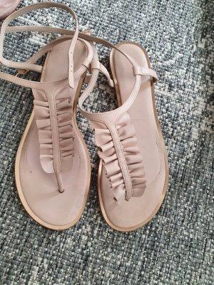 michael Kors leder sandalen