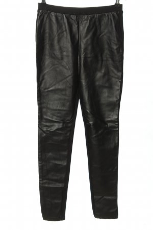 Michael Kors Leather Trousers black casual look