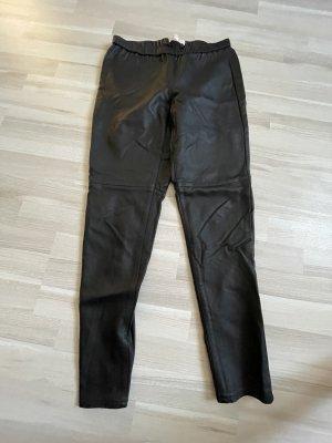Michael Kors Faux Leather Trousers black