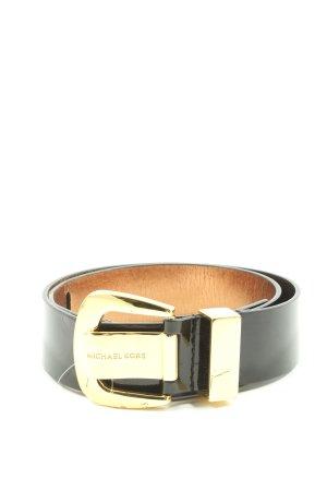 Michael Kors Cinturón de cuero de imitación negro estilo «business»