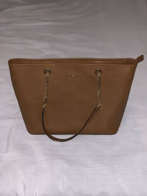 Michael Kors Grayson MD Satchel Monogram Coffee in braun