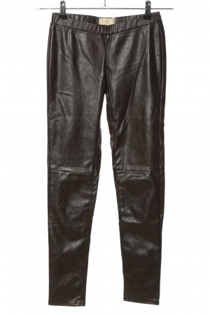 Michael Kors Leggings schwarz Glanz-Optik