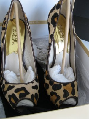 Michael Kors Leo Print High Heels