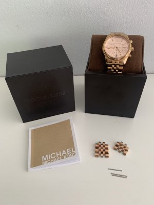 Michael Kors Watch With Metal Strap rose-gold-coloured