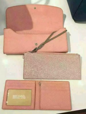 Michael Kors LG Flap Wallet Geldbeutel 3 in 1 Leder Tasche Bag Case Clutch Etui