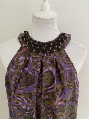 Michael Kors Silk Top multicolored silk