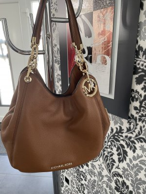 Michael Kors Lillie Large Chain Shoulder Tote Bag