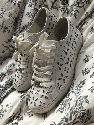 Michael Kors Chaussures à lacets blanc-argenté