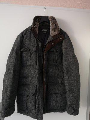 Michael Kors Gabardina tipo vestido gris-marrón grisáceo