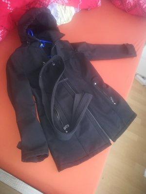 Michael Kors Gabardina tipo vestido negro