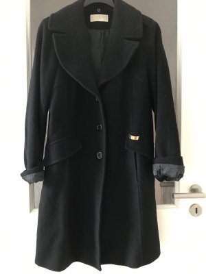 Michael Kors Abrigo de lana negro-color oro