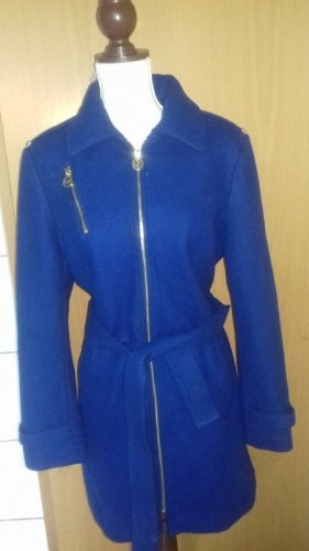 Michael Kors Abrigo de lana azul Lana