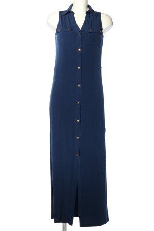 Michael Kors Maxikleid blau Casual-Look