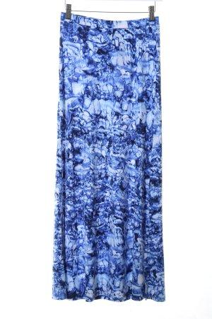 Michael Kors Falda larga azul estampado repetido sobre toda la superficie
