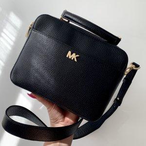 Michael Kors Bandolera negro-color oro Cuero