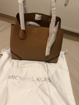 Michael Kors Mercer Gallery Medium Handtasche Cognac