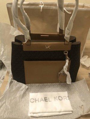 Michael Kors Meredith Damen Handtadche Braun Neu mit Etikett