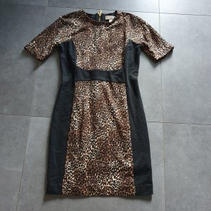 Michael Kors Midi Kleid, Leoprint, Animalprint, Gr.6, w. NEU