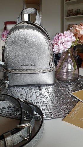 Michael Kors Shoulder Bag silver-colored