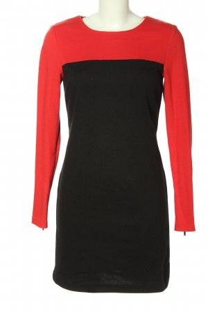 Michael Kors Minikleid schwarz-rot Casual-Look