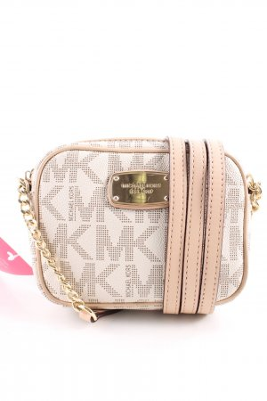 Michael Kors Mini Bag cream-nude allover print casual look