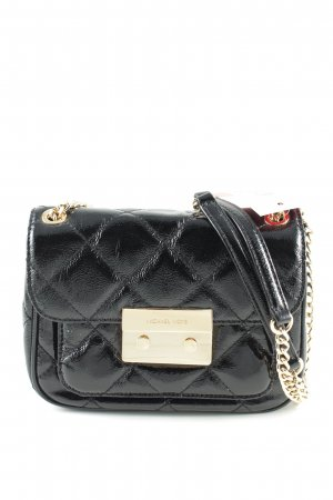 Michael Kors Mini Bag black quilting pattern elegant