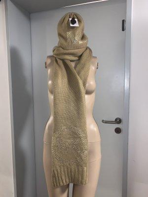 Michael Kors Écharpe en tricot beige