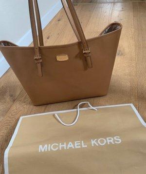 Michael Kors MK Tasche Cognac Leder