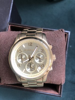 Michael Kors MK5055 Uhr Armbanduhr Gold
