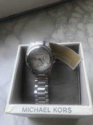 Michael Kors MK5612 Uhr silberne Damenarmbanduhr NEU m Verp.