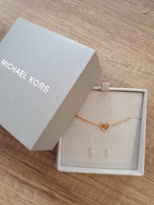 Michael Kors MKC1172AN791 Armband Ohrringe Set Armkette Rosè gold kristall