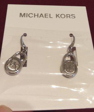 Michael Kors Pendientes colgante color plata