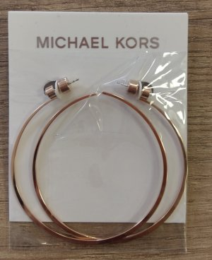 Michael Kors mkj7001791 Creolen neu rosè gold zirkon Ohrringe Durchzieher