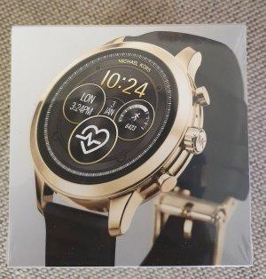 Michael Kors mkt5053 Smartwatch neu schwarz gold Armbanduhr damenuhr