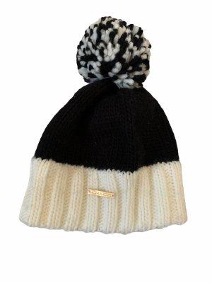 Michael Kors Mütze beige schwarz