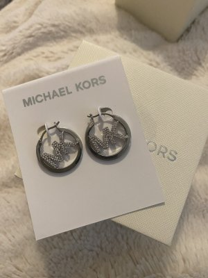 Michael Kors Ear Hoops silver-colored