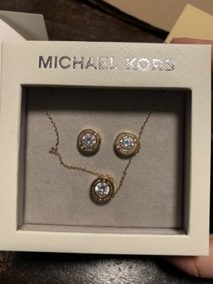 Michael Kors Clou d'oreille or rose-doré