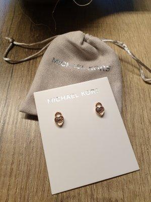 Michael Kors Clou d'oreille or rose