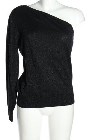 Michael Kors One Shoulder Shirt black casual look